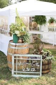 Stylish Outdoor Country Wedding Decoration Gallery Rustic Decor Ideas With Wildflowers And