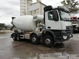100 Concrete Truck Delivery Used MercedesBenz Arocs 4142 Mixer IMER 12 M3 Concrete Trucks Year