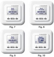 Warm Tiles Thermostat Instructions Manual by Electric Under Floor Heating Thermostat
