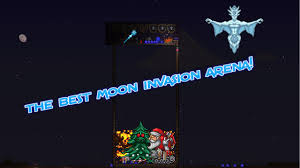 Pumpkin Moon Terraria by Pumpkin Moon And Frost Moon Arena Build Guide Youtube
