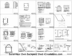 Free Storage Shed Plans 16x20 by Ooten Complete Free 16 X 20 Gambrel Shed Plans