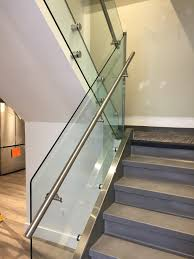 GALLERY | INTERIOR | Glass | Stainless Steel Railings – Innovative ... Stainless Steel Handrail See Tips And 60 Models With Photos Glass Railing Fabricators In Shimla Manali Interior Railings Gallery Compass Iron Works The Sleek Design Of Stainless Cable Rail Systems Pair Well Modern Steel Stair Railing Installing Elements The Handrails Price Naindien Handrails Unique Designs Staircase Handrail Work Kochi Kerala Ernakulam Thrissur Systems Square Middle Post W