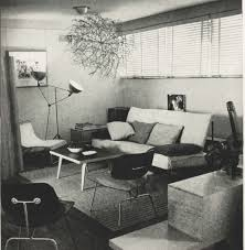 Eames Sofa Compact Used by Charles And Ray Eames First Apartment In Los Angeles In A