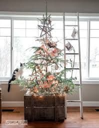 A Twiggy Little Christmas Tree With Story On FunkyJunkInteriors
