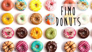 tutoriel 16 réaliser un donut en fimo clay doughnut