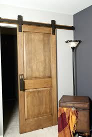 Barn Door To Bathroom Bedroom Inside Doors Wheels Indoor Sliding ... Doors Come Inside Wonderful Interior Barn Doors For Homes Laluz Nyc Home Design Inside Sliding Door Sophisticated Look For Brushed Nickel Hdware Ideas Fold Bathroom With Vintage On Trend Move The Hatch The Large Optional Diy Rolling Wooden Houses Image Of Bedroom Builders Decorative Designs Amazon And Styles Big Size