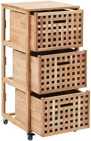 büromöbel rollwagen schubladen rollschrank rollen 3 fächer