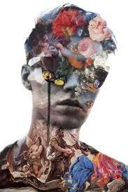 Jenya Vyguzov The Power Of Collage Inspiration Cool Self Portrait Idea