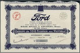 ford siege social ford société anonyme française f 100 asnières 26 juin