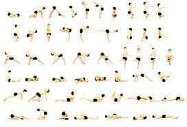 Yoga Poses Names Chart