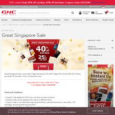 25% Off 1st Item, 40% Off 2nd Item At GNC - CheapCheapLah Beauty Brands Free Bonus Gifts Makeup Bonuses Lookfantastic Luxury Premium Skincare Leading Pin By Eaudeluxe On Glossary Terms Best Fgrances Universe Coupons Promo Codes Deals 7 Ulta 20 Off Oct 2019 Honey Brands Annual Liter Sale September 2018 Sale Friends And Family Event Archives The Coral Dahlia Online Beauty Retailers For Makeup Skincare Petit Vour Offers With Review Up To 30 Email Critique Great Promotional Email Elabelz Coupon 56 Off Plus Up 280 Shopcoins Uae Nykaa 70 Off 1011