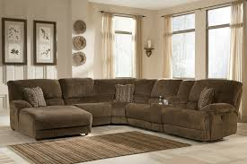 Decorating With Brown Couches by Decorating Interesting Ashley Furniture Sectional For Modern