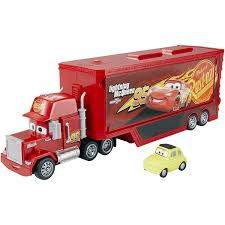 100 Cars Mack Truck Playset Amazoncom DisneyPixar 3 Travel Time Toys Games