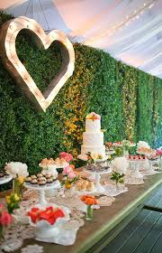 Outdoor Wedding Cake Table Decorations Desert Dcor On Reception Ideas Weddceremony