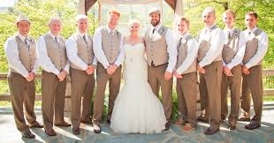 Closed Rustic Wedding Attire For Groomsmen Groom Where Did You Get Yours Vests Etc