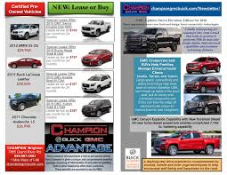 Newspaper Specials | Champion GMC Buick Hazelwood New Used Ford Super Duty Lease Finance And Incentives Portsmouth Lincoln Dealership In Nh 03801 F150 Specials Boston Massachusetts 0 Chevy Truck Deals Indianapolis Lamoureph Blog The Best Lancaster Pa At Turner Buick Gmc Chevrolet Metro Detroit Buff Whelan Ram Pickup Resource F350 Columbus Oh Special Prizes On Amazing Cars Your Local Dealership Newspaper Champion Boch Toyota Norwood Ma