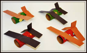 Paper Roll Craft Airplane