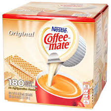 Nestle Coffee Mate Original Liquid Creamer Singles 180 Count