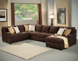 brown microfiber sectional sofa with ideas gallery 36816 imonics