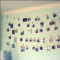 Clothesline Collage Sky Photo