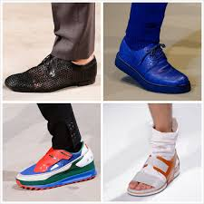Summer Spring 2014 Shoes Men Trend The