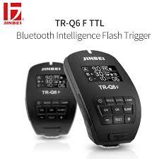 100 Fuji Studio US 6309 JINBEI TR Q6 HSS TTL Trigger For 24G Wireless Radio Flash Transmitter Photography Lighting Remote Controllerin Shutter