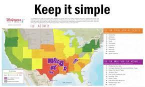 Walgreens Flu Index Map