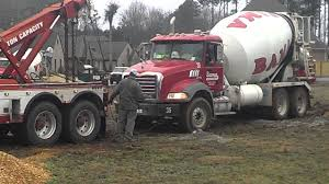 100 Cement Truck Capacity Truck Stuck In The Mud Lol YouTube