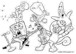 20 Free Printable Music Coloring Pages