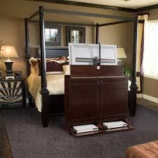 tv lift cabinets in homes klassisch schlafzimmer miami