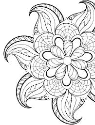 Coloring Pages Design Abstract Sheets Designs