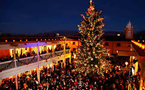 Silver Tip Christmas Tree Los Angeles by The Best Christmas Trees In The United States Travel Leisure