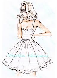 Fashion Illustration Design DrawingsSketch