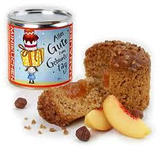 hanauer minikuchen pfirsich aprikose zum geburtstag 1er pack 1 x 170 g