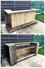Cheap Patio Bar Ideas by Pallet Outdoor Bar U2026 Pinteres U2026