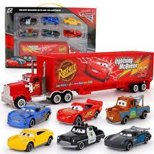 100 Lightning Mcqueen Truck Disney Pixar Cars 3 7pcs Set Jackson