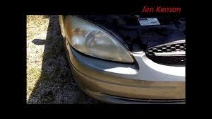 ford taurus headlight replacement