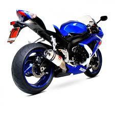 pot gsr 600 echappement scorpion pour moto suzuki echap moto pot échappement