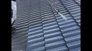 painting concrete roof tiles