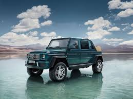 100 G Wagon Truck Mercedes Built The Most Expensive SUV In The World The 650