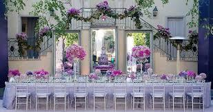 décorations de table de mariage somptueuses