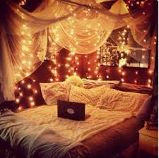 tumblr bedrooms with fairy lights Google Search