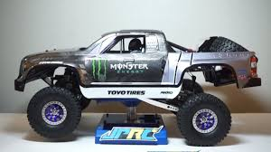 Building Recoil4 Monster Energy Trophy Truck - JPRC GS2 RC Trophy ...