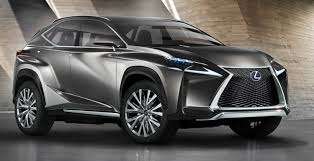 Lexus LF NX Crossover Hybrid concept aims at pact SUV in
