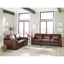 100 2 Sofa Living Room Luca Piece Top Grain Leather Set Loveseat