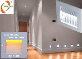 exterior mounted recessed led wall lights 120 degree led stair
