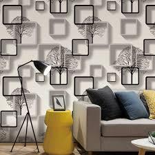weiß lila blau moderne 3d wallpaper für wohnzimmer