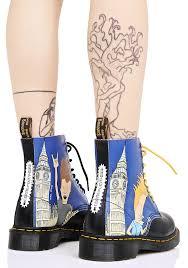 Beavis And Butthead Halloween Youtube by Dr Martens Big Ben Beavis U0026 Butthead 8 Eye Boots Dolls Kill