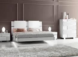 Platform Bed EF Caprice White by Status