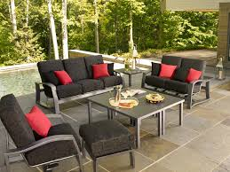 Patio Furniture With Hidden Ottoman by Momentum Outdoor Deep Seating Set